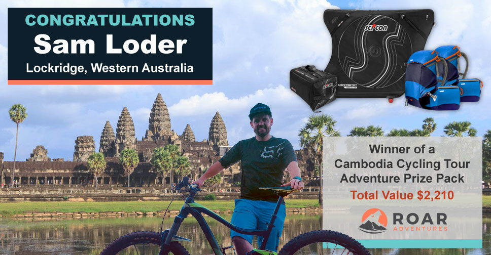 Sam Loder, Winner of our Launch Contest...